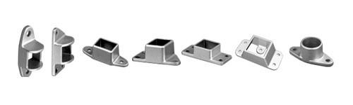 BFence Brackets - Double Lug - Aluminium