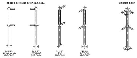 Balltube Special Drilling for Rails