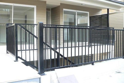 Powder coated Balustrades