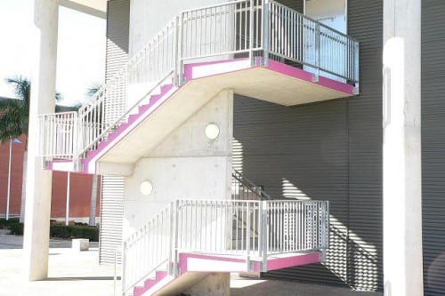 High Rise Balustrade