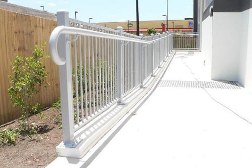Metal Balustrade and handrail