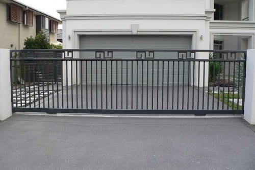 steel automatic gates