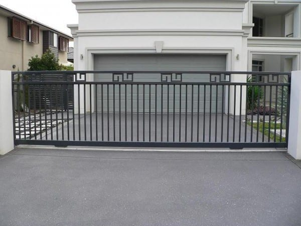 steel automatic security gates
