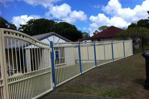 Home front fence