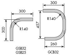 Standard Bends - Galvanised