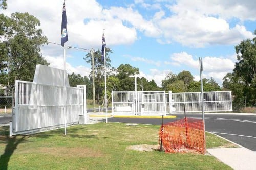 Large industrial Fence