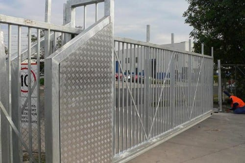 Large Factory Gate
