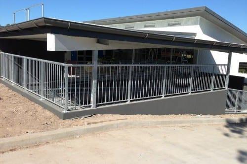 School Fence in Brisbane