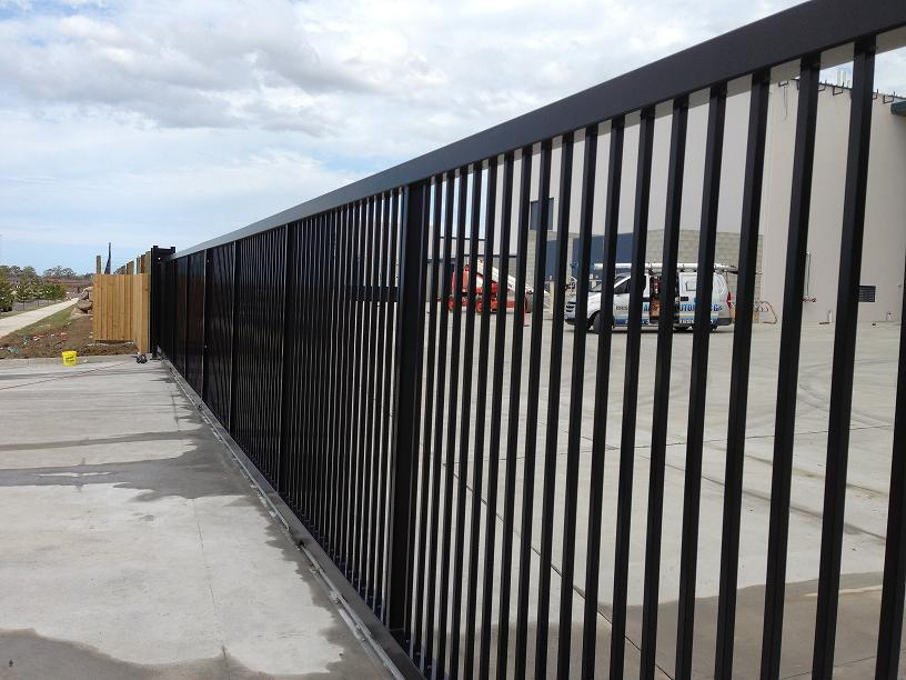 Commercial Gates Amp Fencing In Brisbane Singh Fabrications
