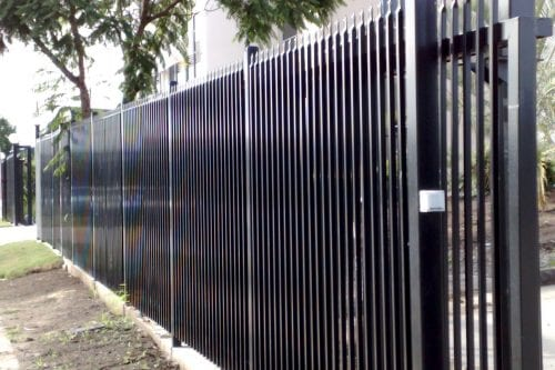 Security fencing and auto gates