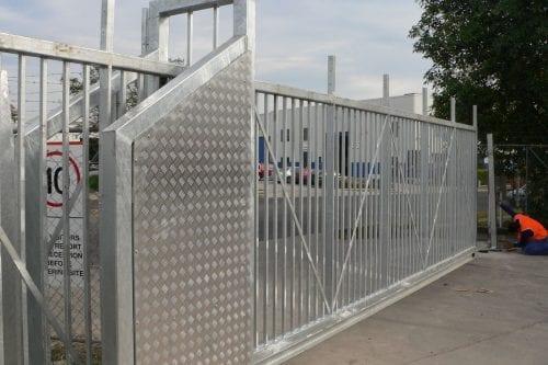 sliding automatic gate